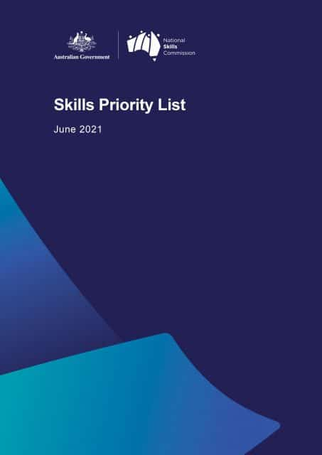 Skills Priority List Occupation 2021 - The Migration